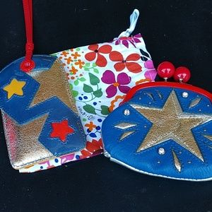 Brighton coin purse and luggage tag
